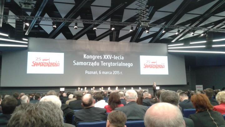 Maxima Fides na Kongresie XXV-lecia Samorządu Terytorialnego