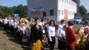 Dożynki gminno - parafialne Grabno - Zamość 2015